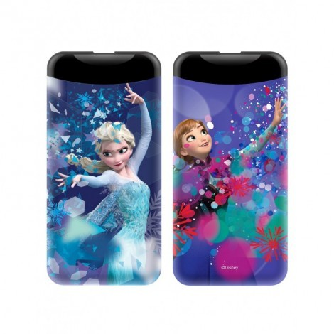 Disney Power Bank - Jégvarázs 2.1A 6000mAh Lila