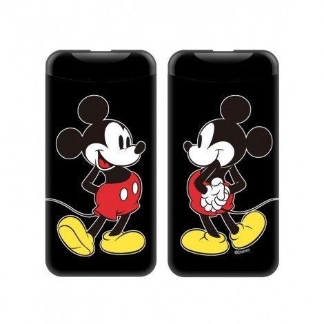 Disney Power Bank - Mickey 2.1A 6000mAh Fekete