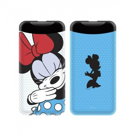 Disney Power Bank - Minnie 2.1A 6000mAh Kék / Fehér