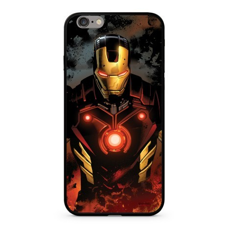 Marvel-Iron Man Szilikon tok Apple iPhone Xs Max Fekete