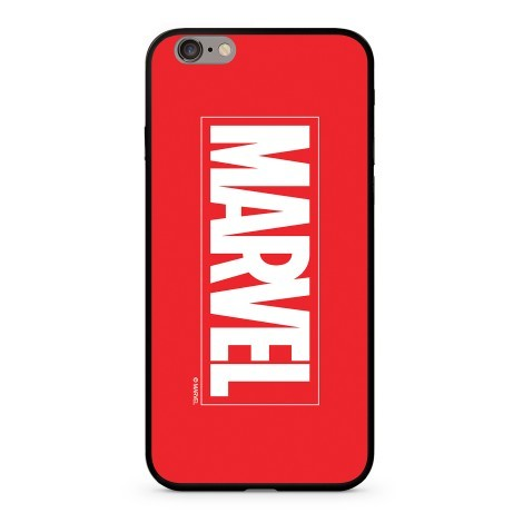 Marvel Szilikon tok Apple iPhone 7/8 Piros