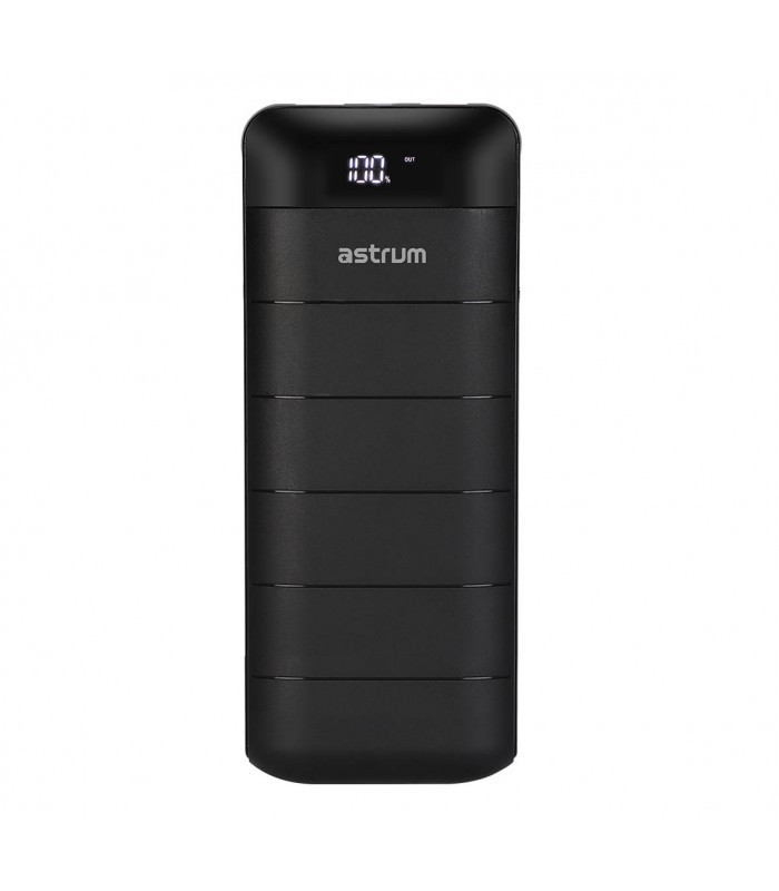 Astrum PB130 V2 Power Bank 12000mAh, 2X USB, 2A Fekete