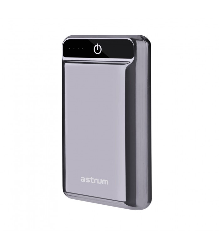 Astrum PB201 HD Mini Power Bank 10000mAh 2X USB, 2,4A Fekete