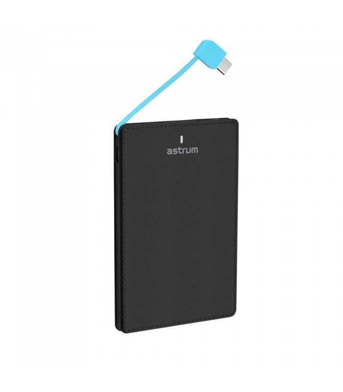 Astrum PB410 Ultravékony Power Bank 4000mAh 1USB 1A Fekete