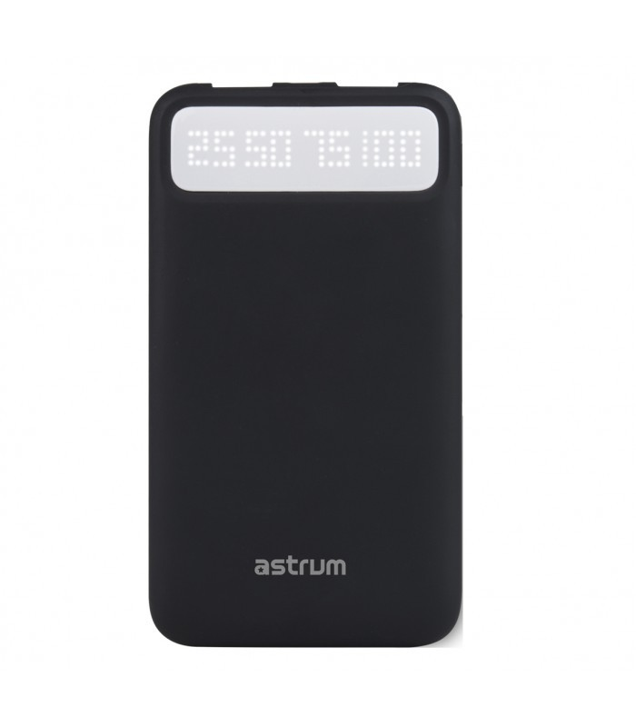 Astrum PB780 V2 Power Bank 8000mAh 2XUSB 2,1A/1A Fekete