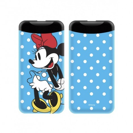 Disney Power Bank - Minnie 2.1A 6000mAh Kék