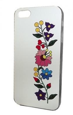 a8228e29d9 Apple iPhone 5 tok, fehér, KALOCSAI MINTÁVAL Mobiltelefon tartozék ...