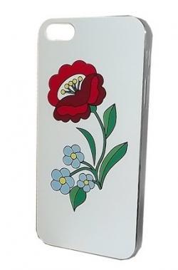 ef9cb49a98 Apple iPhone 5 tok, KALOCSAI MINTÁVAL fehér Mobiltelefon tartozék ...