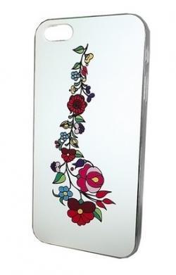 9b13422e20 Apple iPhone 5 fehér tok, KALOCSAI MINTÁVAL Mobiltelefon tartozék ...